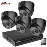 Dahua FULL HD Camerabewakingssysteem zwart