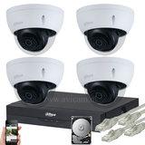 Starlight Dahua 5MP IP camerasysteem POE