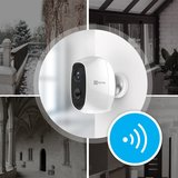 EZVIZ C3A Wifi Batterij IP camera 100% draadloos voor binnen en buiten met audio en app. _