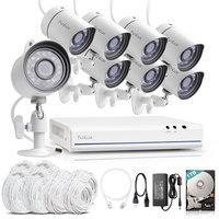 720P HD IP netwerk camerabewakingssysteem FS-1008-W-1TB.