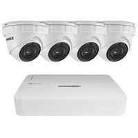 3MP High-Performance camerabeveiligingssysteem 4 Camera's.