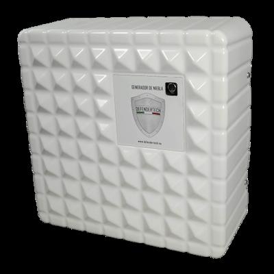 Defendertech mist generator DT-800L genereert 830 m2 mist in 60 sec. incl. accu en Lan verbinding.