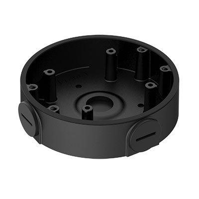 Zwarte Dahua montagebox / aansluitdoos voor dome bewakingscamera's