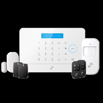 Nivian Smart Wifi / GSM alarmsysteem kit NVS-A6WG uitbreidbaar tot 60 draadloze sensoren.