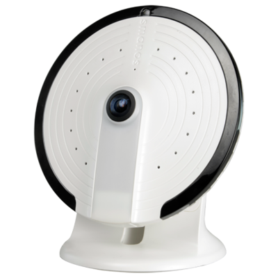 Smanos UFO Panorama WiFi camera PT-180H 360 graden fisheye lens, nachtzicht, mic, speaker en microSD  slot.