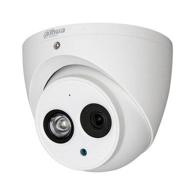 8MP Dahua IPC-HDW4831EMP-ASE 4K ePoE Eyeball IP camera met ingebouwde microfoon.