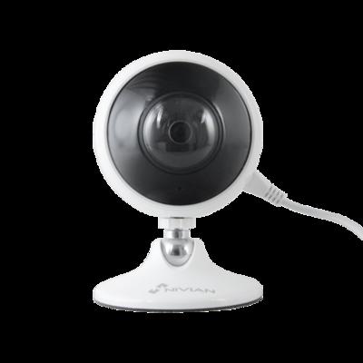 Babyfoon WIFI Fisheye Nivian 360 graden FULL HD 3MP camera met mic, speaker en gratis app.