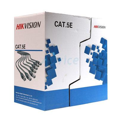 Hikvision UTP Cat5e rol 100 m grijs - netwerkkabel 100% koperen kern.