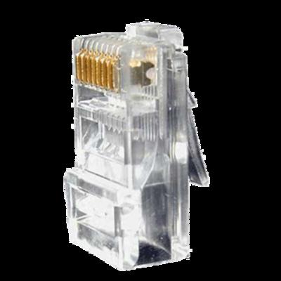 RJ45 connector voor aansluiting op UTP netwerkkabel