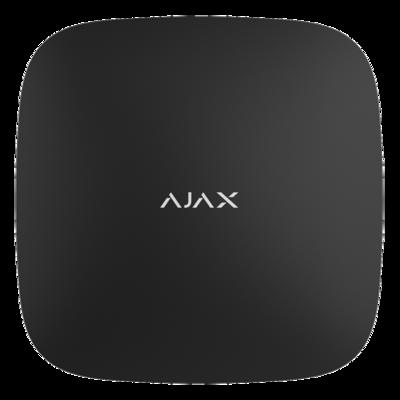 Ajax Hub beveiligingssysteem alarmpaneel uitbreidbaar met max 100 diverse beveiliging en controle componenten.