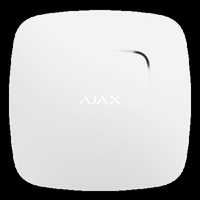 Ajax Fireprotect draadloze rookmelder sensor verkrijgbaar in kleur zwart of wit.