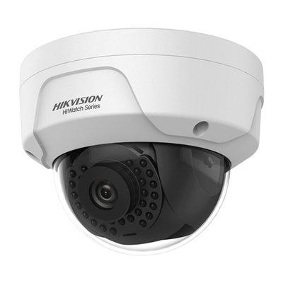 4MP Hikvision HWI-D140H PoE dome buiten IP camera vandaalbestendige behuizing.