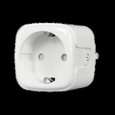Slimme wifi stekker Nivian Smart NVS-SOCKETF-W bedienbaar via de gratis app.