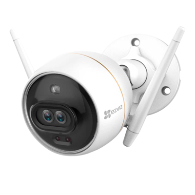 Ezviz Hikvision C3X Darkfighter WIFI Buiten IP camera 2MP, intelligente dubbele lens, audio, MicroSD slot. (UITVERKOCHT!)