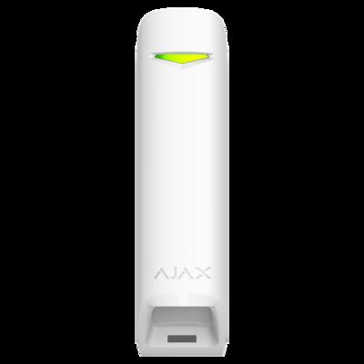 Ajax Motionprotect curtain verkrijgbaar in kleur zwart of wit.