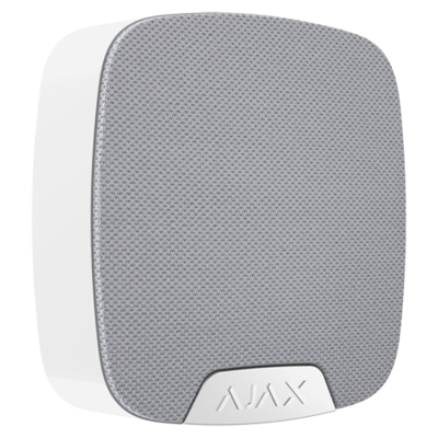 Ajax Homesiren binnen alarm sirene zwart of witte kleur.