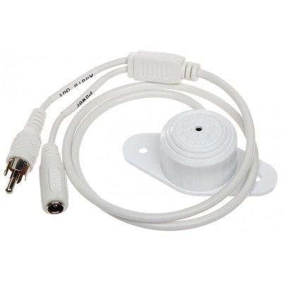 Dahua microfoon DH-HAP100 voor direct aansluiten op DVR, NVR of IP camera.