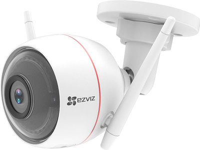 Ezviz Hikvision C3W Husky Air WIFI Buiten IP camera 2MP FULL HD met audio, sirene, flitsalarm en MicroSD