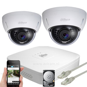Dahua Ip camera systeem