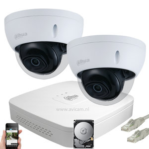 Dahua Ip starlight camera systeem