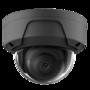 IP PoE 2MP netwerk UTP Safire camerabewakingssysteem met 4 zwarte dome camera's.