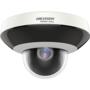 Hikvision HWP-N2404IH-DE3 4MP PTZ buiten dome PoE IP camera, 4x optische zoom, IR nachtzicht en SD slot.
