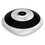 Wifi IP NV-IPDM360A-3W Fisheye 360 graden Camera 3MP, nachtzicht, mic, speaker en microSD slot.