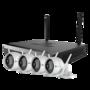 Ezviz wifi camerasysteem full hd incl. 1TB, 4 IP Camera met nachtzicht, microfoon, nvr met eigen router.
