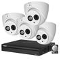 Dahua 2MP camerabewakingssysteem FULL HD 4 camera's incl. microfoon.