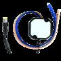 12V 2000mA buiten stroomadapter met 2 stroomdraadjes voor IP camera.