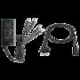 12V 5A stroomadapter met 4 uitgangen.