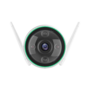 Ezviz Hikvision C3N WIFI Buiten IP camera FULL HD kleuren nachtzicht, flitser, microfoon en microSD slot.