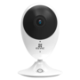 Babyfoon Ezviz C2C-180 panoramic full hd resolutie binnen wifi camera met microfoon, luidspreker en SD-slot.