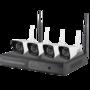 Draadloos WIFI IP camerabewakingssysteem 2MP 1080P FULL HD NVR met ingebouwde Wifi Router.